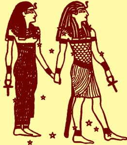 Egyptian-twins-holding-Ankh-262x300