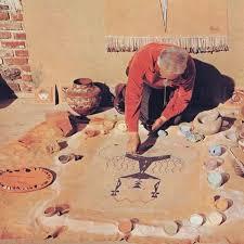 Navajo sandpainting