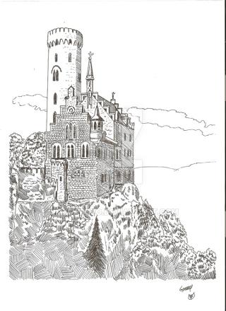 Schloss_lichtenstein_by_megalobo-d2230qr