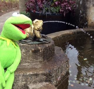 Kermit fountain